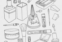 Mini Cooper Coloring Pages - Makeup Coloring Pages to and Print for Free
