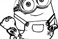Minion Coloring Pages Bob - Kevin Durant Shoes Coloring Pages Coloring Pages