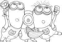 Minion Coloring Pages Free - Coloring Pages Despicable Me 2 Refrence Cute Despicable Me Minion