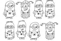 Minion Halloween Coloring Pages - Minion Halloween Coloring Pages Luxury Minion Coloring Pages to