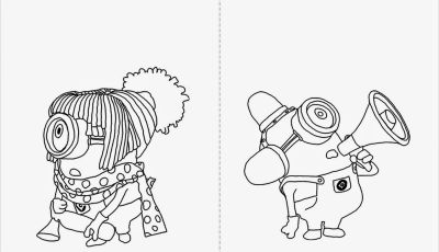 Minion Movie Coloring Pages - Desenhos Para Colorir Meu Malvado Favorito Colorir