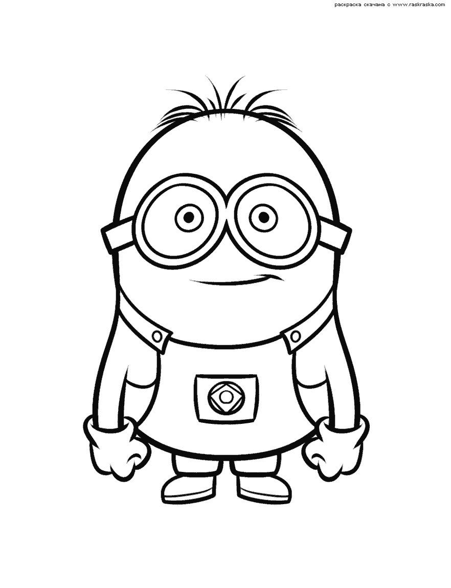 Minion Movie Coloring Pages  Collection 19n - To print for your project
