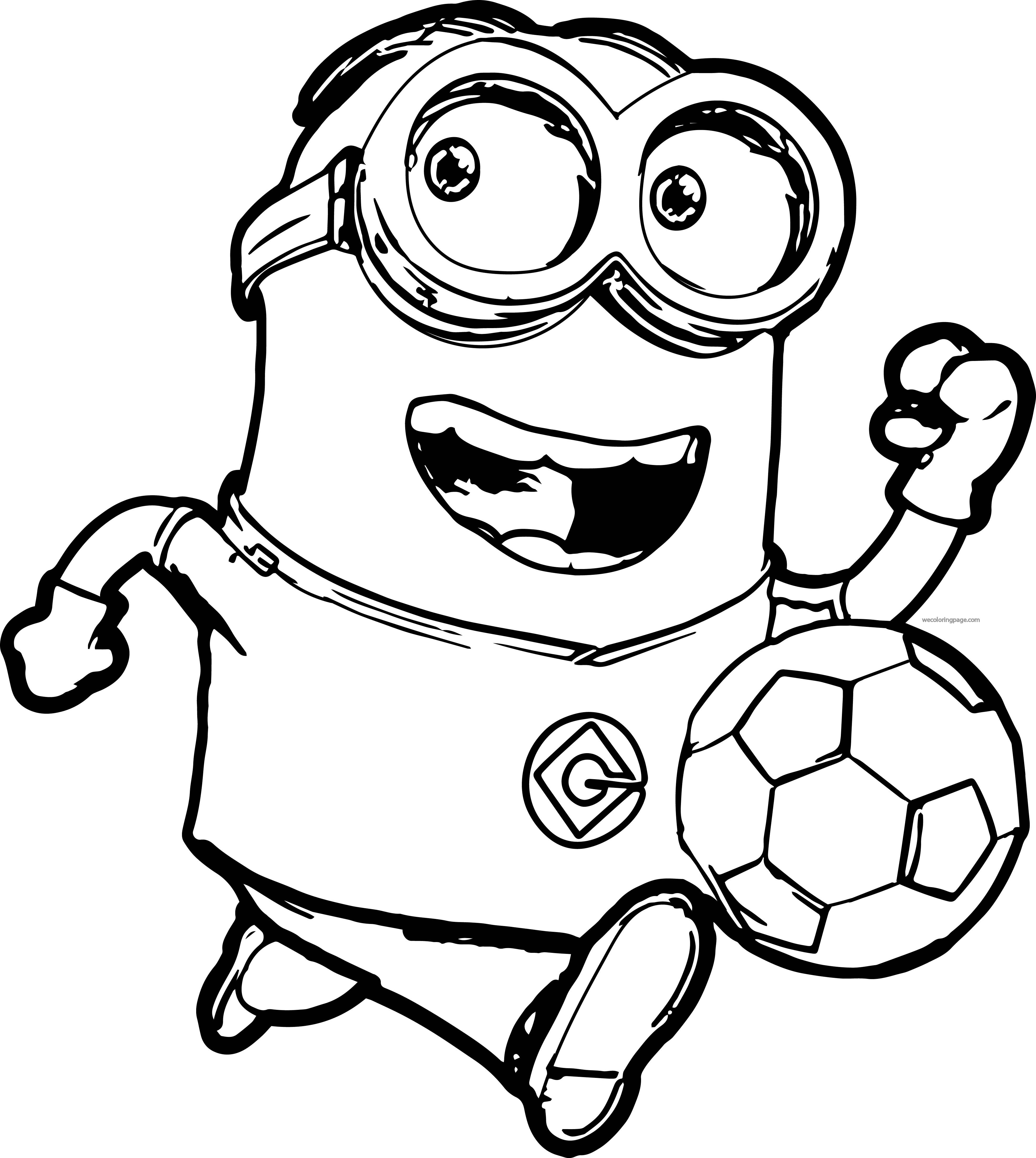 Minion Printable Coloring Pages  Collection 19t - Free For kids