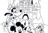 Minnie Mouse Coloring Book Pages - Elegant Mouse Coloring – Doyanqq