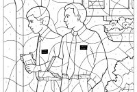 Missionary Coloring Pages - Lds First Vision Coloring Page Joseph Smith Coloring Pages