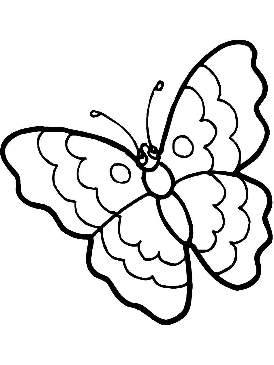 Monarch butterfly Coloring Pages  to Print 20c - Free Download