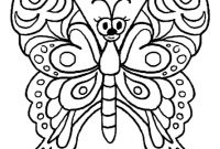 Monarch butterfly Coloring Pages - butterfly Color In