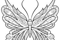 Monarch butterfly Coloring Pages Free - Adult butterfly Coloring Book Coloring Page Pinterest