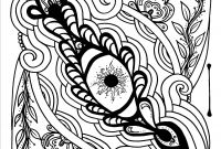 Monet Coloring Pages - Eye Love Art therapeutic Coloring Page or Tattoo Art by
