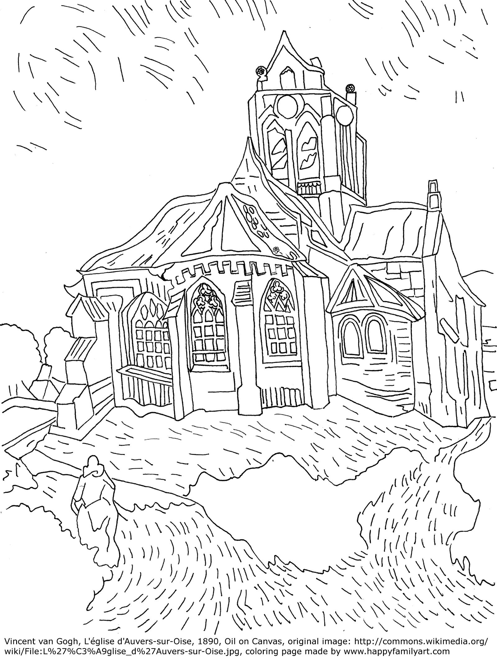 Monet Coloring Pages  Gallery 10h - Free For kids