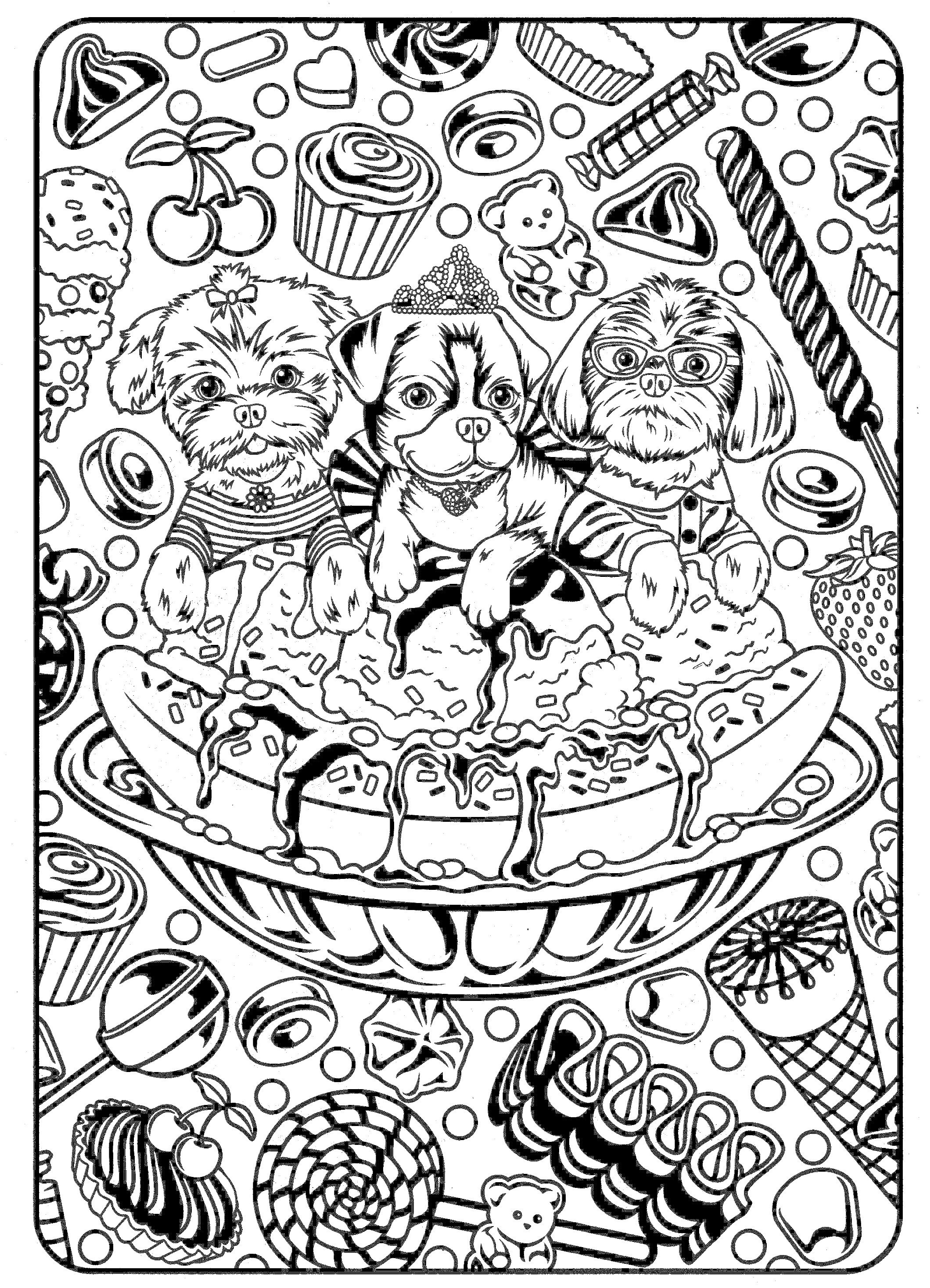Monkey Coloring Pages Free Printable  Printable 15j - Free For Children