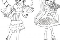 Monster High Coloring Pages - Baby Monster High Coloring Pages Monster High Color Pages Fresh