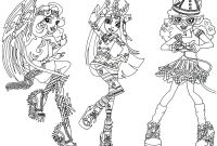 Monster High Coloring Pages - Baby Monster High Coloring Pages Monster High Color Pages Refrence