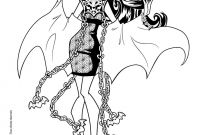 Monster High Coloring Pages - Monster High Coloring Pages 72 Online toy Dolls Printables for Girls