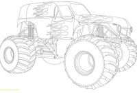 Monster Truck Coloring Pages - Coloring Pages Monster Trucks Grave Digger Kids 13 Luxury