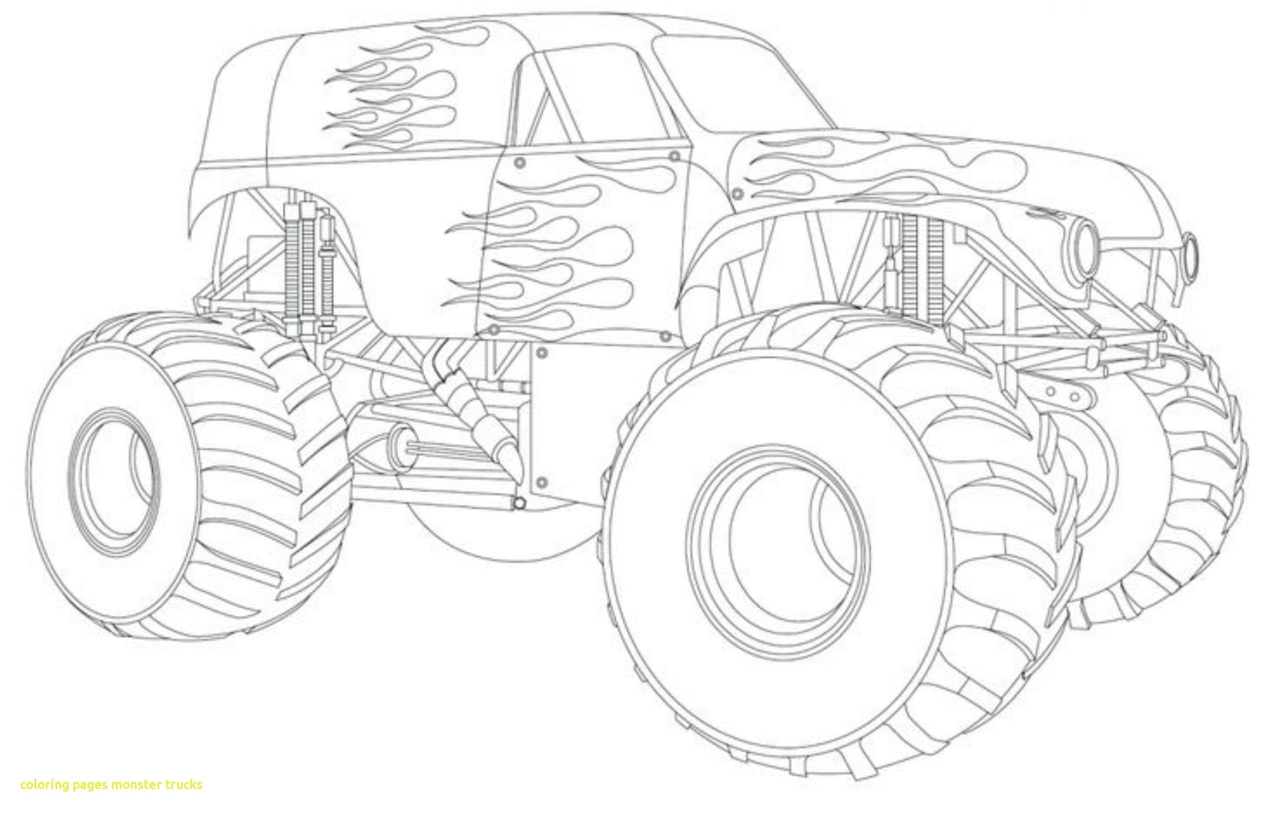 Monster Truck Coloring Pages  Download 19b - Save it to your computer