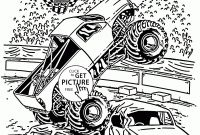 Monster Truck Coloring Pages - Excavator Coloring Page Truck Coloring Pages Stylish Grave Digger