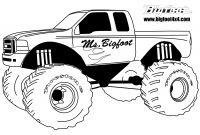 Monster Truck Coloring Pages - Hot Wheels Clipart Monster Truck Tire Pencil and In Color Hot