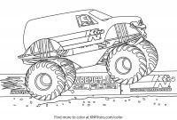Monster Truck Coloring Pages - K&n Printable Coloring Pages for Kids