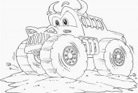 Monster Truck Coloring Pages - Monster Trucks Coloring Pages