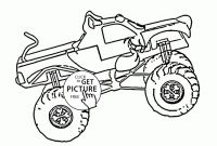 Monster Truck Coloring Pages - Scooby Doo to Print and Color New Scooby Doo Monster Truck