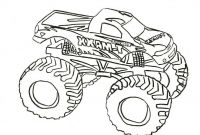 Monster Trucks Printable Coloring Pages - 16 Best Printable Truck Coloring Pages