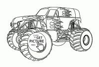 Monster Trucks Printable Coloring Pages - Bigfoot Coloring Page New Beautiful Monster Truck Coloring Page for