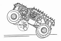Monster Trucks Printable Coloring Pages - Monster Truck Coloring Book Fresh Police Car Carrier Truck Coloring