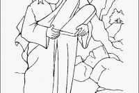 Moses and the Burning Bush Coloring Pages - 27 Moses and the Burning Bush Coloring Pages