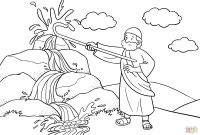 Moses and the Burning Bush Coloring Pages - Moses Burning Bush Coloring Page Inspirational Moses Burning Bush