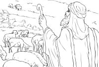 Moses and the Burning Bush Coloring Pages - Moses Burning Bush Coloring Page Lovely Moses Burning Bush Coloring