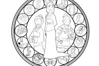 Mulan Coloring Pages - Coloring Mandalas Fruit