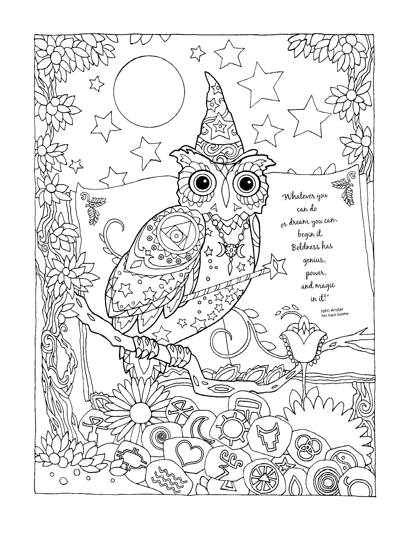 Mushroom Coloring Pages  Gallery 9f - Free For Children