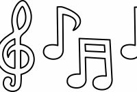 Music Note Coloring Pages - Music Coloring Page Democraciaejustica