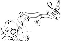 Music Note Coloring Pages - Musical Coloring Pages Eskayalitim