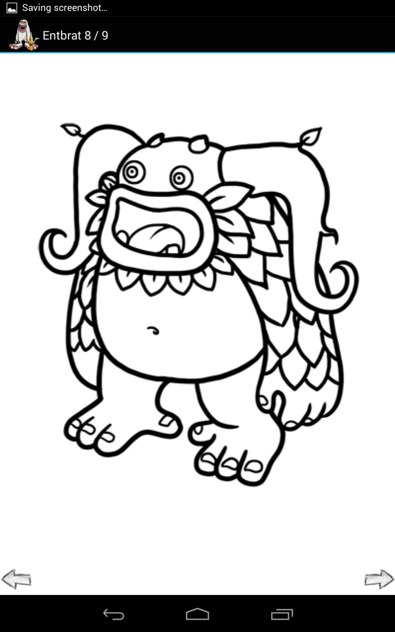 My Singing Monsters Coloring Pages  Collection 8g - Free For Children