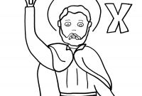 Mystery Of History Coloring Pages - X is for St Francis Xavier Mystery Of History 3