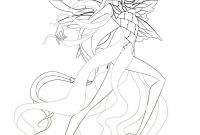 Mythological Creatures Coloring Pages - Bloom Dreamix Coloring✏ Pinterest