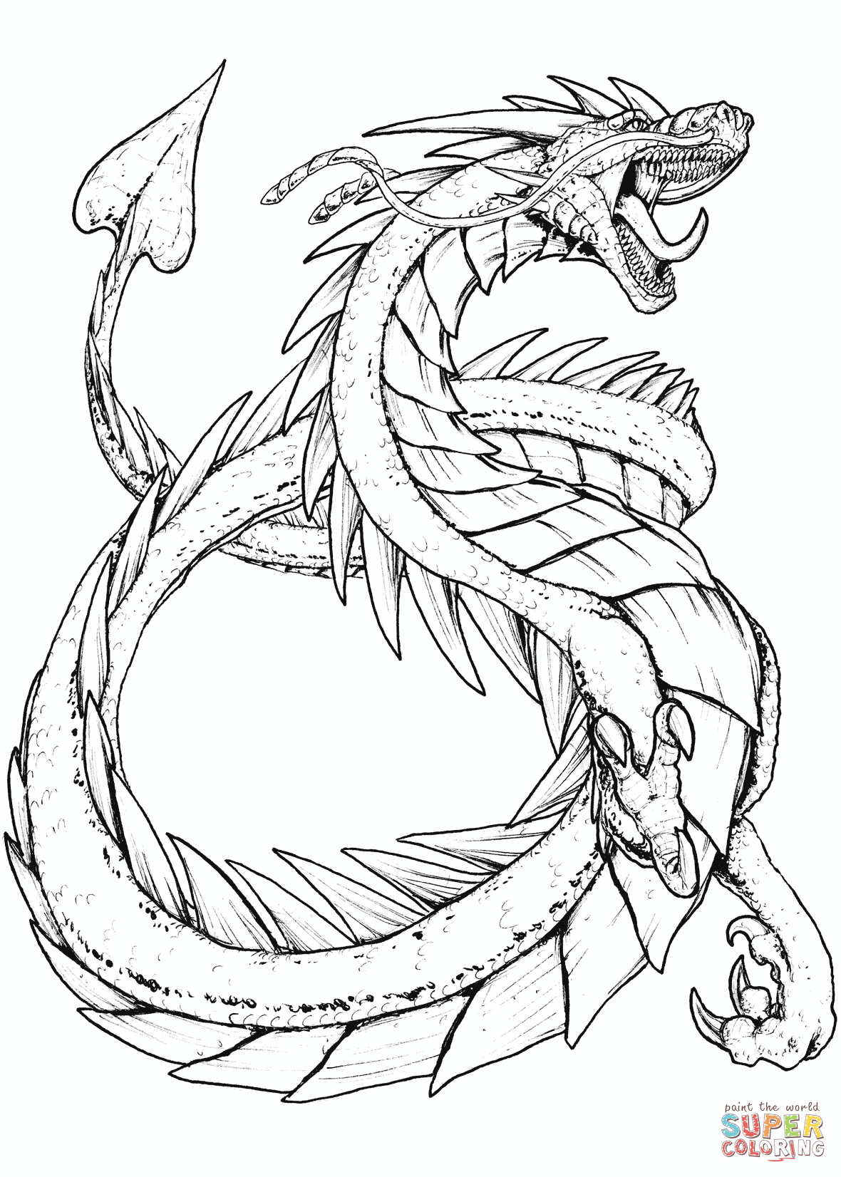 Mythological Creatures Coloring Pages  Download 6g - Save it to your computer