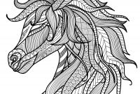 Mythological Creatures Coloring Pages - Pretty Unicorn Adult Coloring Page … Activities for Seniors
