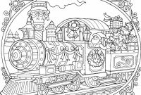 National Geographic Kids Coloring Pages - Christmas Train Coloring Page Coloring Pinterest