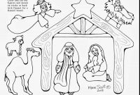 Nativity Scene Coloring Pages - Free Printable Nativity Scene Coloring Pages Christmas Coloring