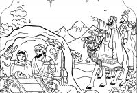 Nativity Scene Coloring Pages - Luxury Christmas Around the World Coloring Pages Free