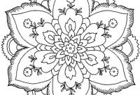 Nature Mandala Coloring Pages - Beautiful Coloring Pages for Adults