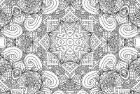 Nature Mandala Coloring Pages - Coloring Pages for Adults Decorative Hand Drawn Doodle Nature