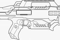 Nerf Coloring Pages - Nerf Guns Coloring Pages Nerf Gun Coloring Pages Luxury Easy Gun