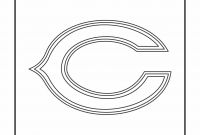 Nfl Football Coloring Pages - Chicago Bears Coloring Pages Lovely Nfl Bears Coloring Pages
