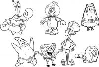 Nickelodeon Spongebob Coloring Pages - Spongebob Coloring Free Printable Unique Spongebob Coloring Book