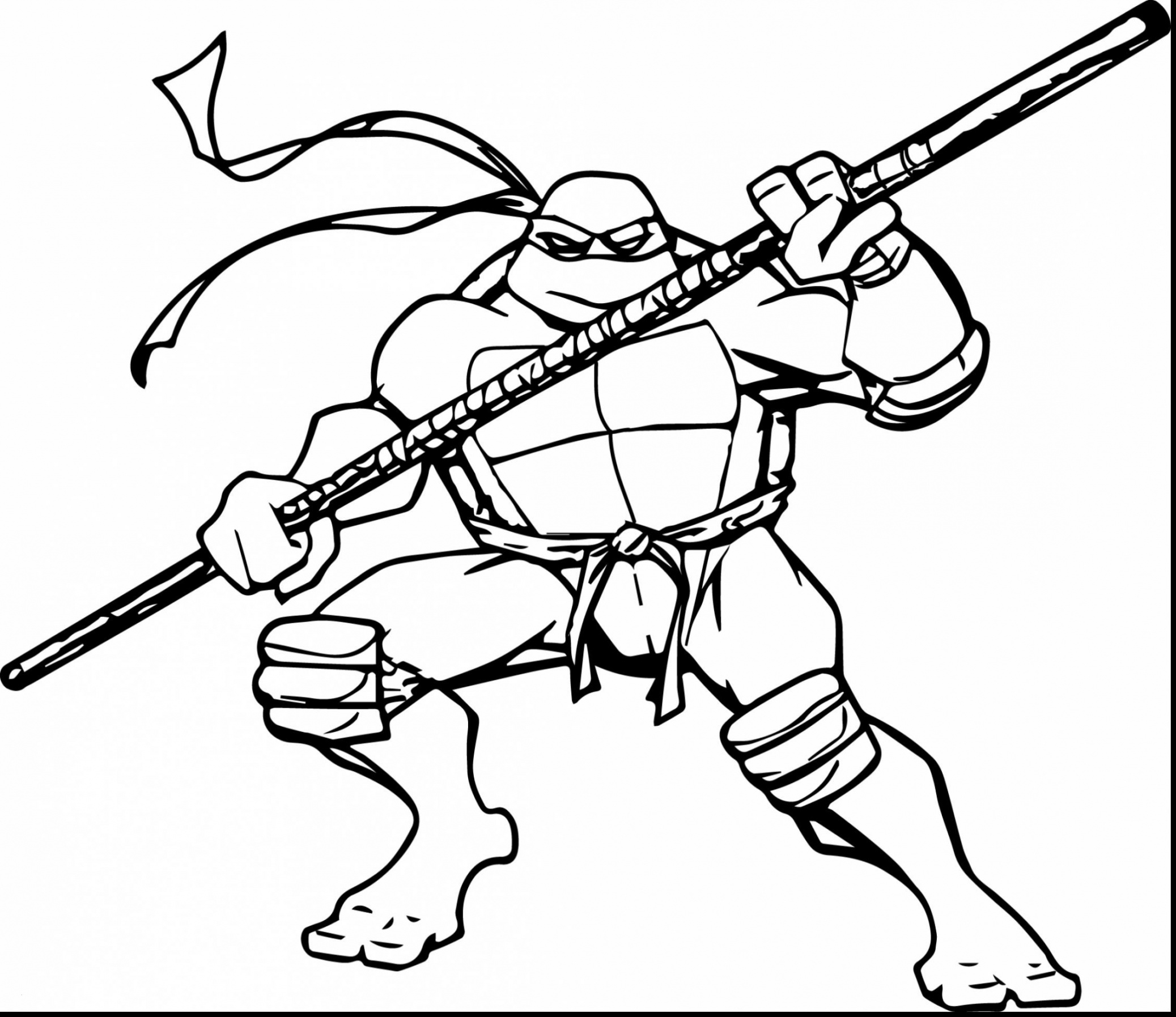 Nickelodeon Teenage Mutant Ninja Turtles Coloring Pages  Collection 14e - Save it to your computer