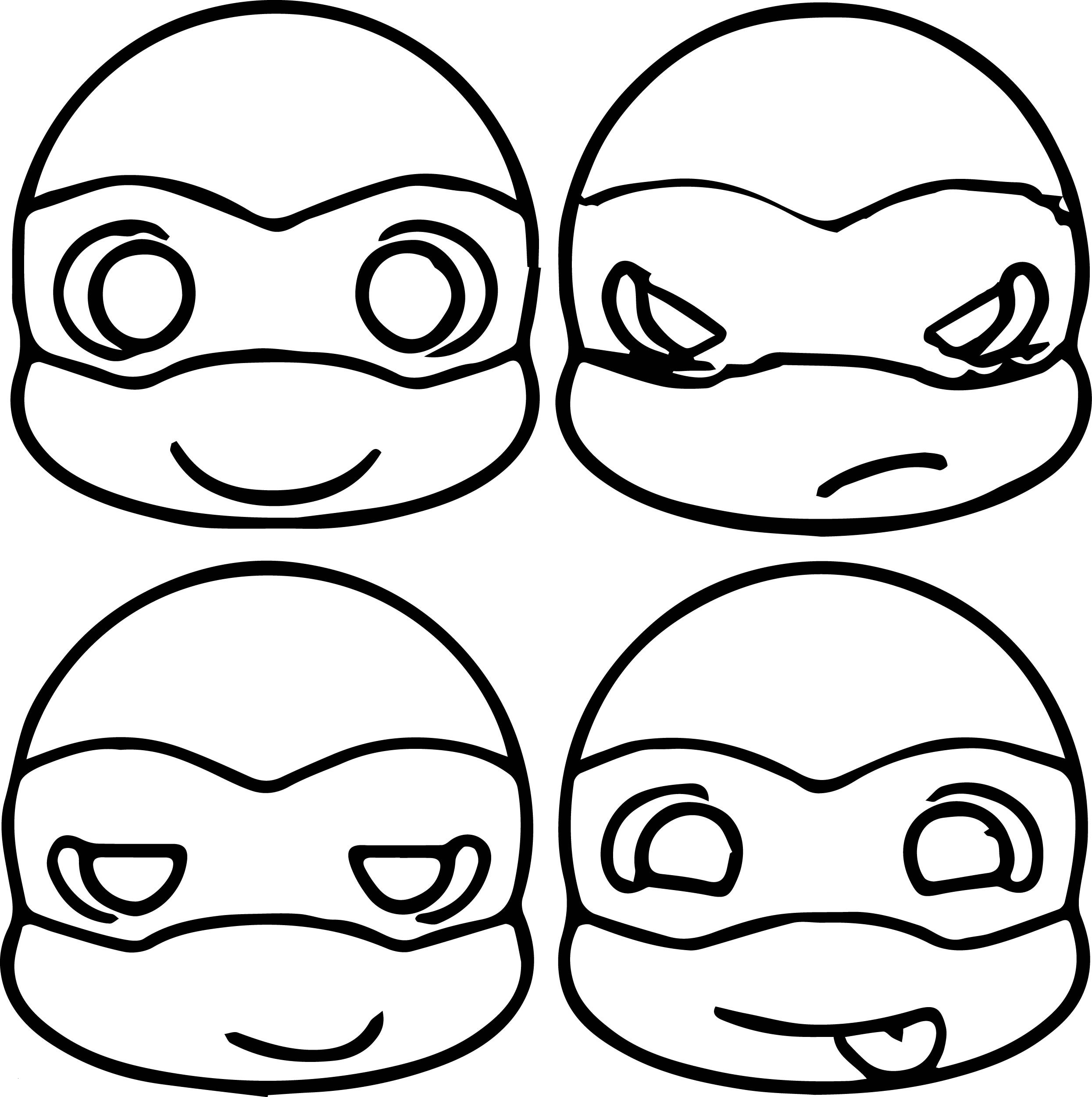 Nickelodeon Teenage Mutant Ninja Turtles Coloring Pages ...
